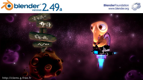 blender splash screen 2.49a