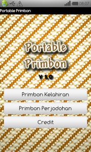 Portable Primbon