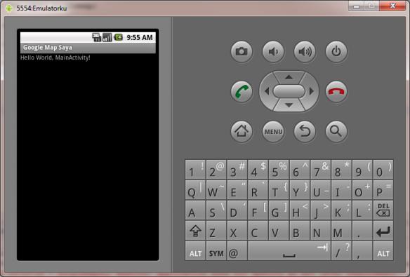 Hasil Emulator